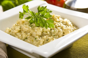 Serowe Risotto