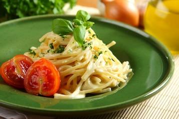 Spaghetti cztery sery