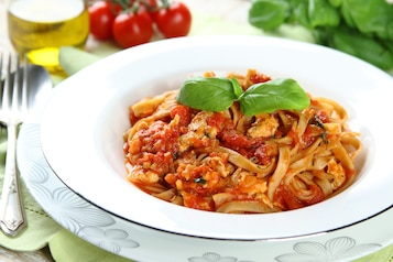 Spaghetti z indyka