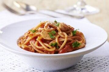Szybkie spaghetti z kurczakiem