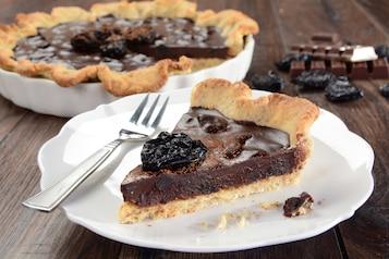 Tarta śliwkowo-czekoladowa bez laktozy
