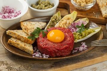 Tatar z wołowiny