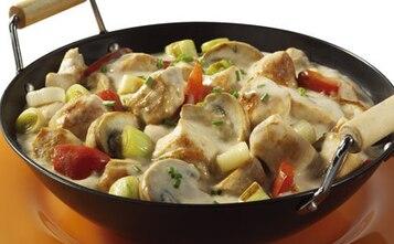 Wiosenny kurczak z warzywami