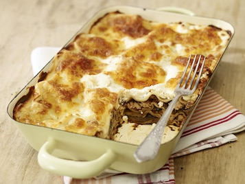 Włoska grzybowa Lasagne