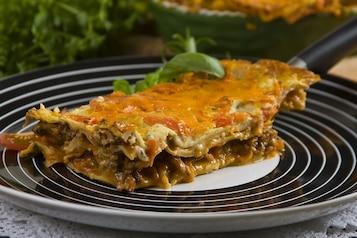 Włoska lasagne z pieczarkami