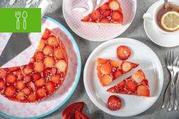 Wypieki z sierpniowymi owocami