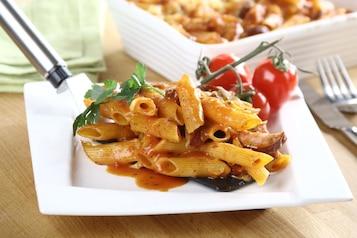 Zapiekanka makaronowa po bolońsku