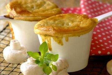 Zapiekanki z makaronem i pieczarkami