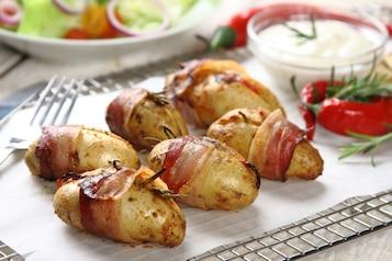 Ziemniaki grillowane