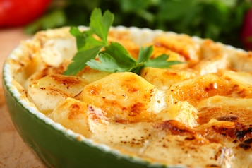 Ziemniaki w ziołowym sosie