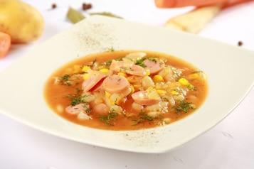 Zupa fasolowo – kukurydziana
