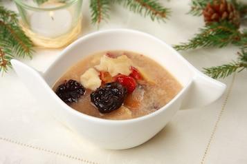 Zupa owocowa z kluskami