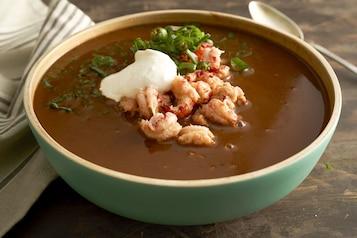 Zupa rakowa po kreolsku