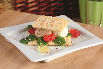 Lodowa kanapka z żelkami