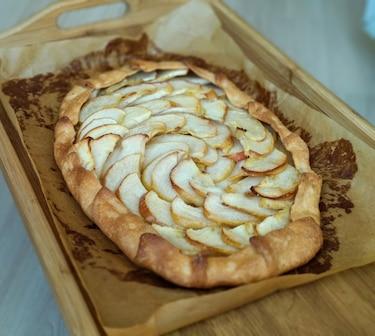 Galette - rustykalna tarta ze śliwkami i cynamonem