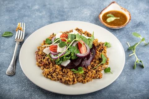 Dania z kaszą i ryżem