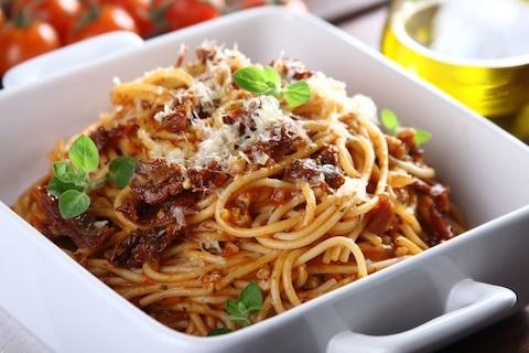 Top 15 spaghetti we włoskim stylu