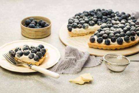 Przygotuj smaczne ciasto z jagodami