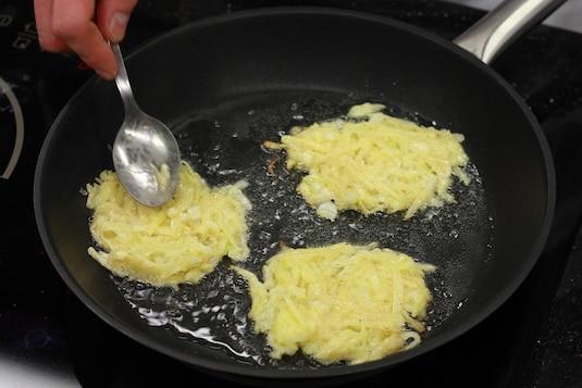 Картофельные оладьи - Шаг 4