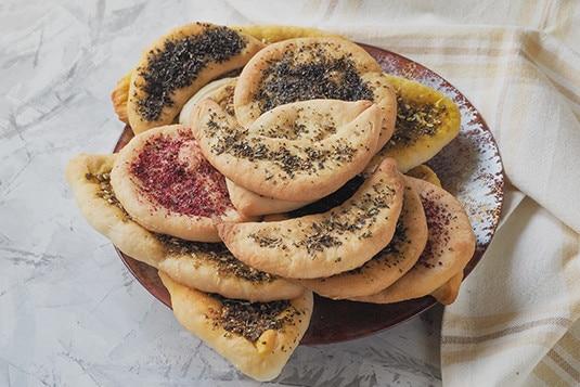 Zaatar Libańska Kuchnia Pokazuje Pazur Dziennik Szefa