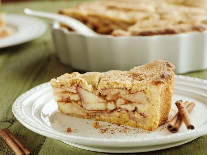 Ciasto z jabłkami i cynamonem