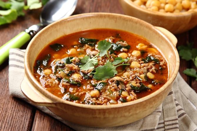 Aromatyczna zupa z jagnięciną z Tunezji