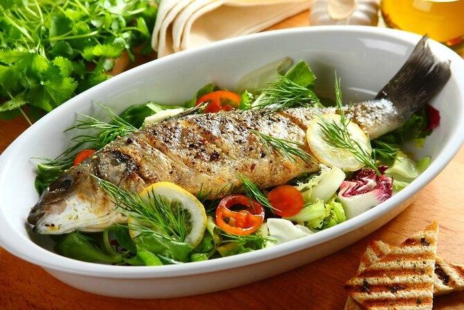 Ryba na grilla