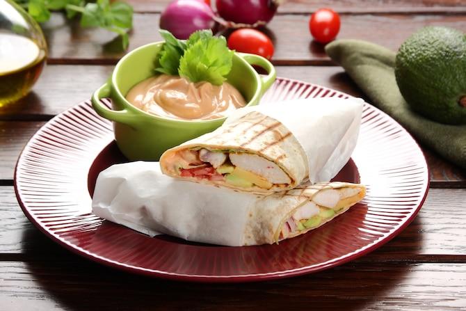 Tortilla z indykiem
