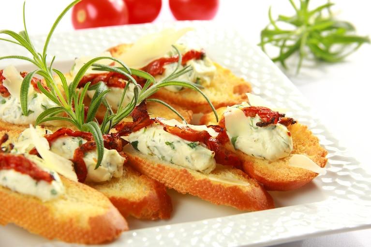 Crostini z serem