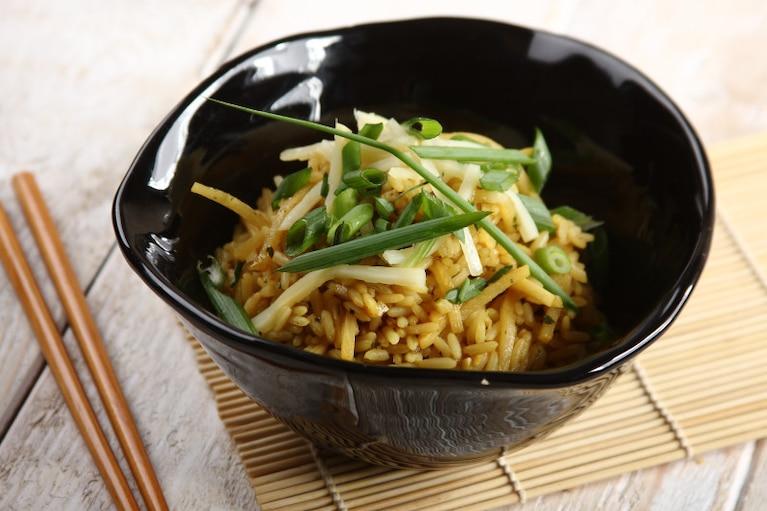 Bambus z ryżem