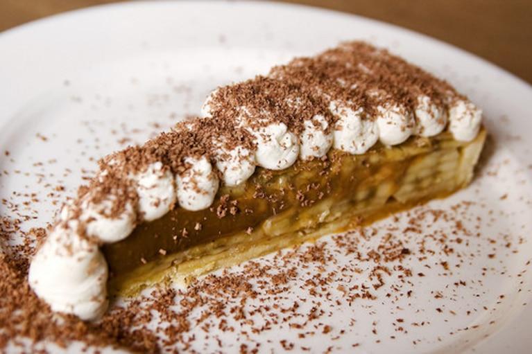 Banoffee-ciasto bananowe z toffee