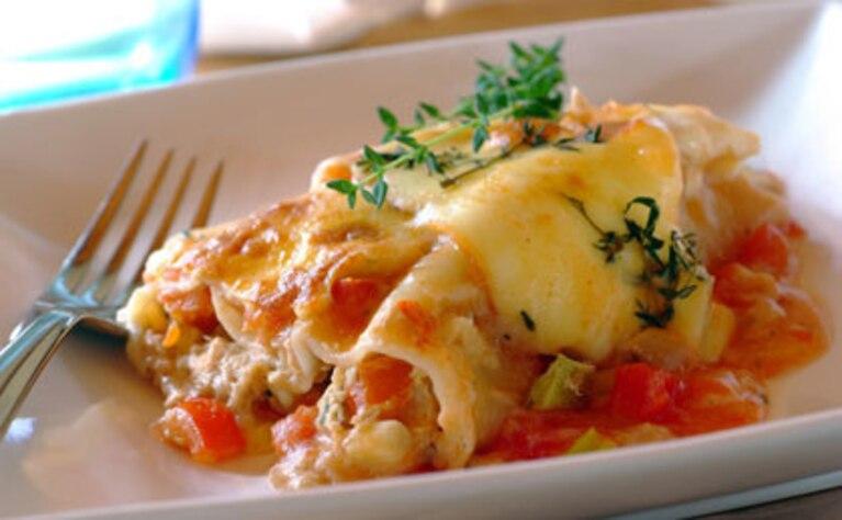 Cannelloni z tuńczykiem
