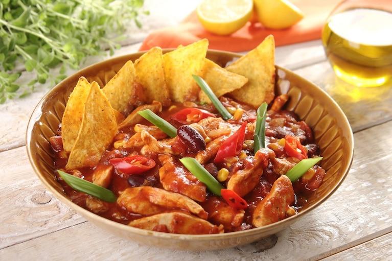 Chili con carne z kurczaka