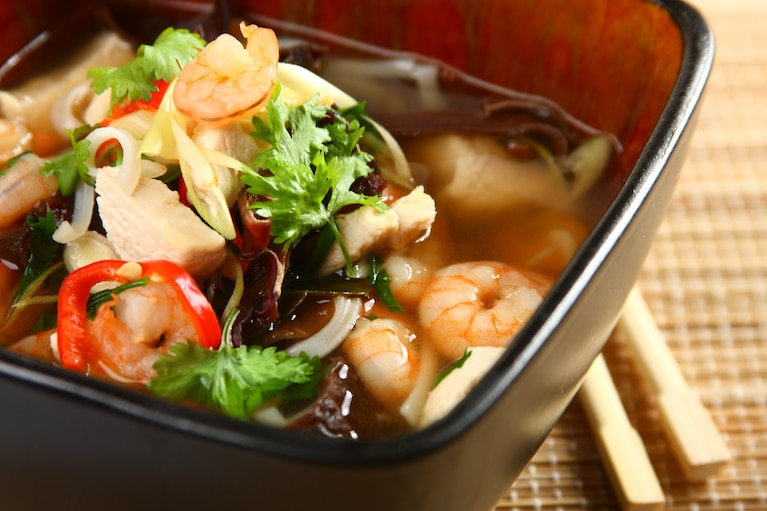 Chińska zupa cytrynowa - VIDEO