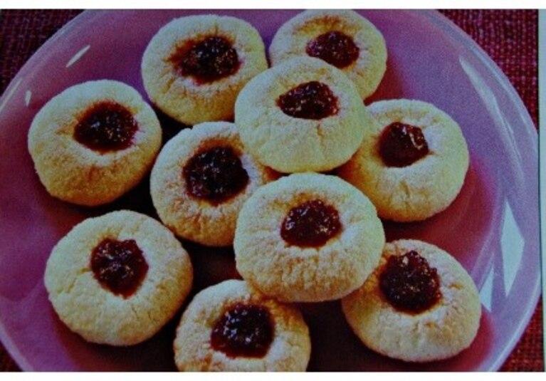 Ciasteczka ryżowo-kokosowe