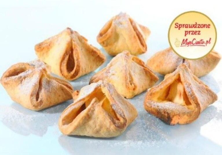 Ciasteczka serowe z owocami (bez jajek)