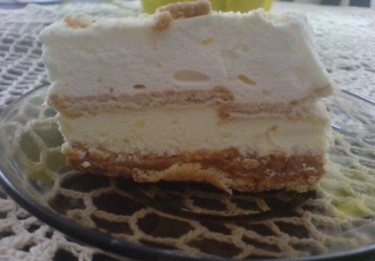 ciasto bez pieczenia,na herbatnikach:)