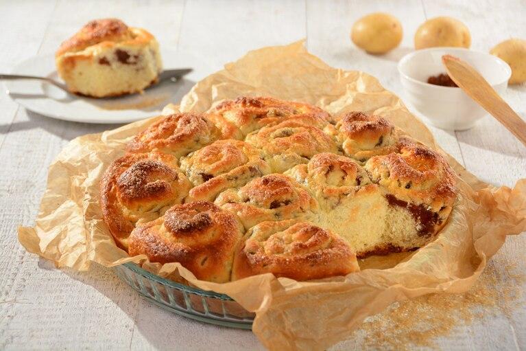 Ciasto drożdżowe z ziemniakami