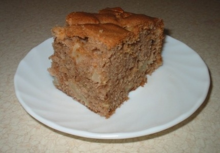 Ciasto jabłkowo - cynamonowe