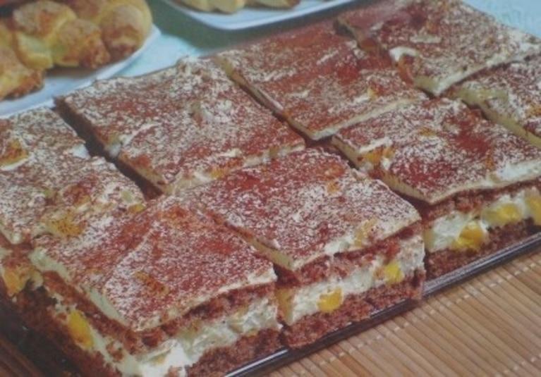 Ciasto Orzechowe z Budyniem