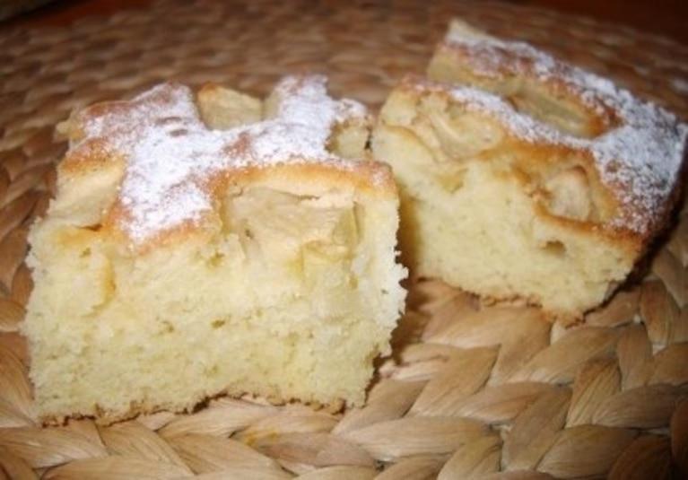 Ciasto piaskowe z owocami