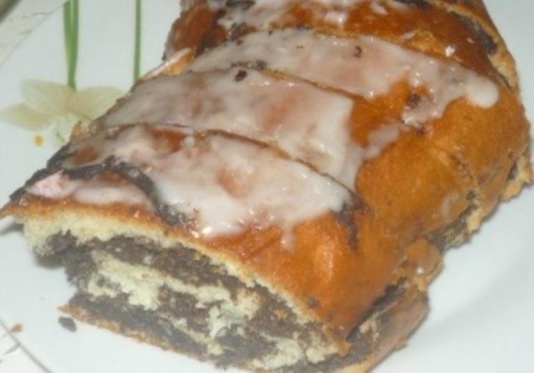 Ciasto rulon z makiem