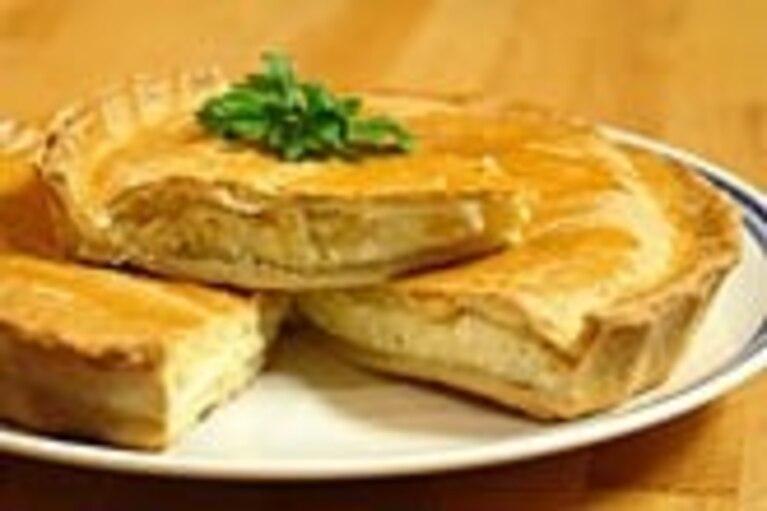 Ciasto serowe - tourte