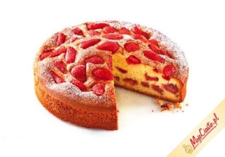 Ciasto Z Truskawkami Przepis Zobacz Na Przepisy Pl