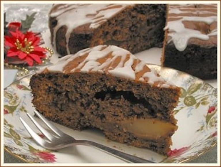 Ciasto z gruszkami babuni