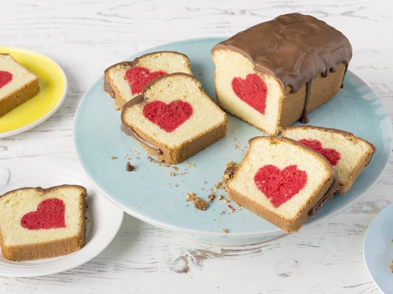 Ciasto z ukrytym sercem