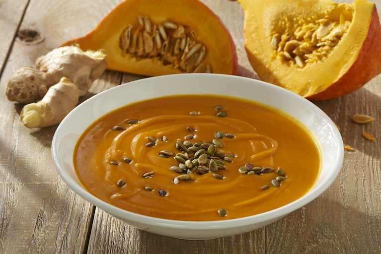 Jesienna zupa krem z dyni