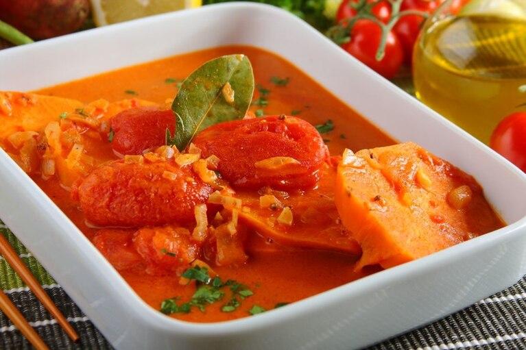 Curry ze słodkich ziemniaków