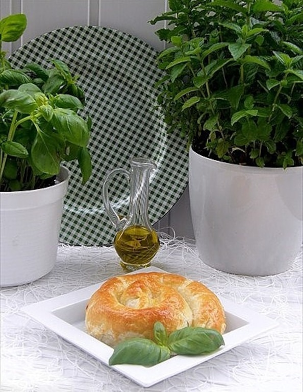 Francuskie ślimaki ze szpinakiem