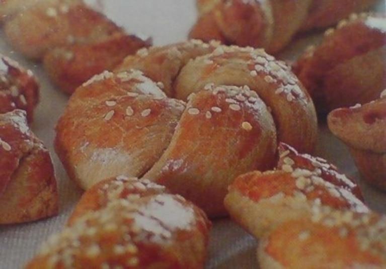 Greckie ciastka kolourakia